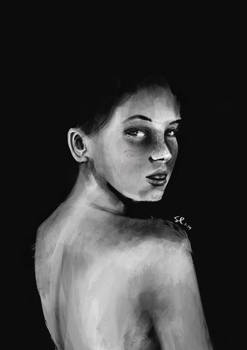 Black and white study