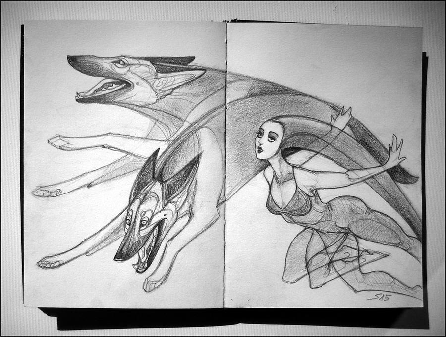 Sketchbook: Random Ideas by newfka