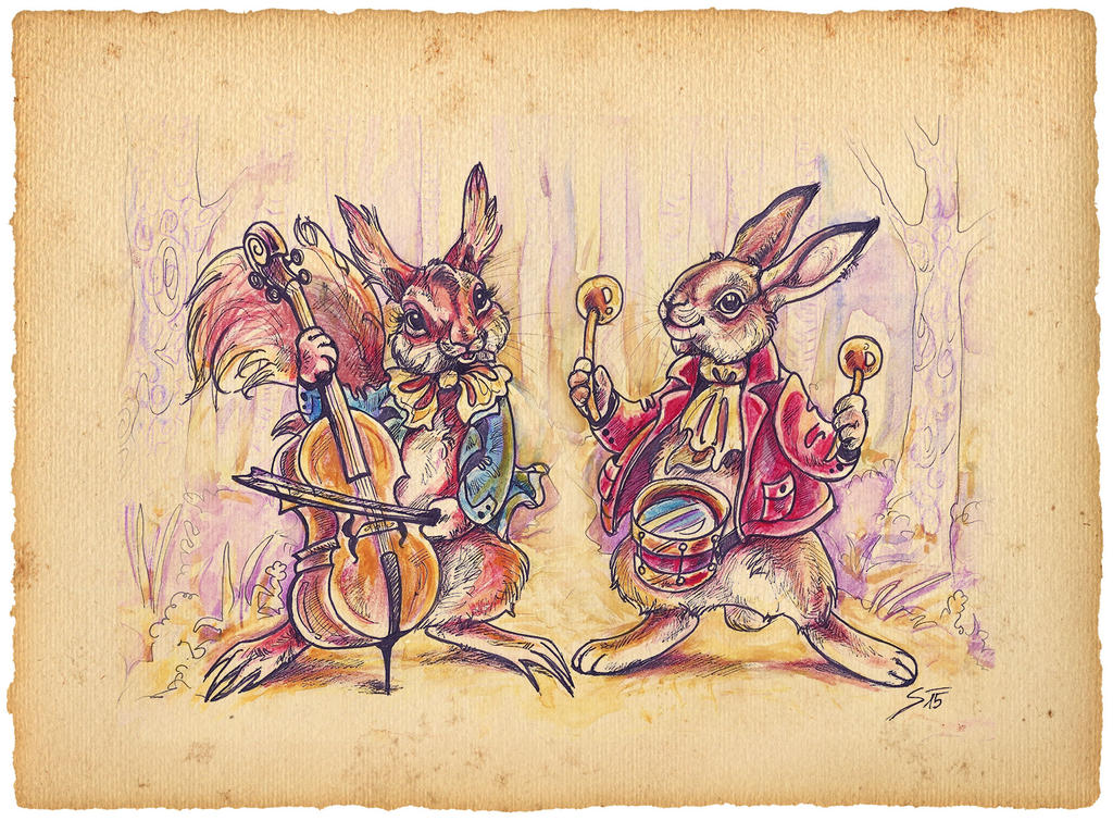 Musicians by TheUrbanFox