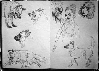 Sketchbook: Artistic Frustration