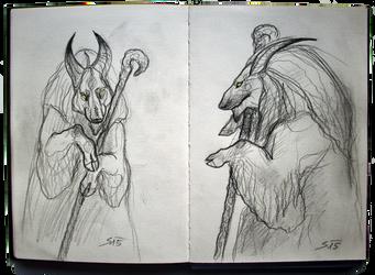 Sketchbook: Original Character Design