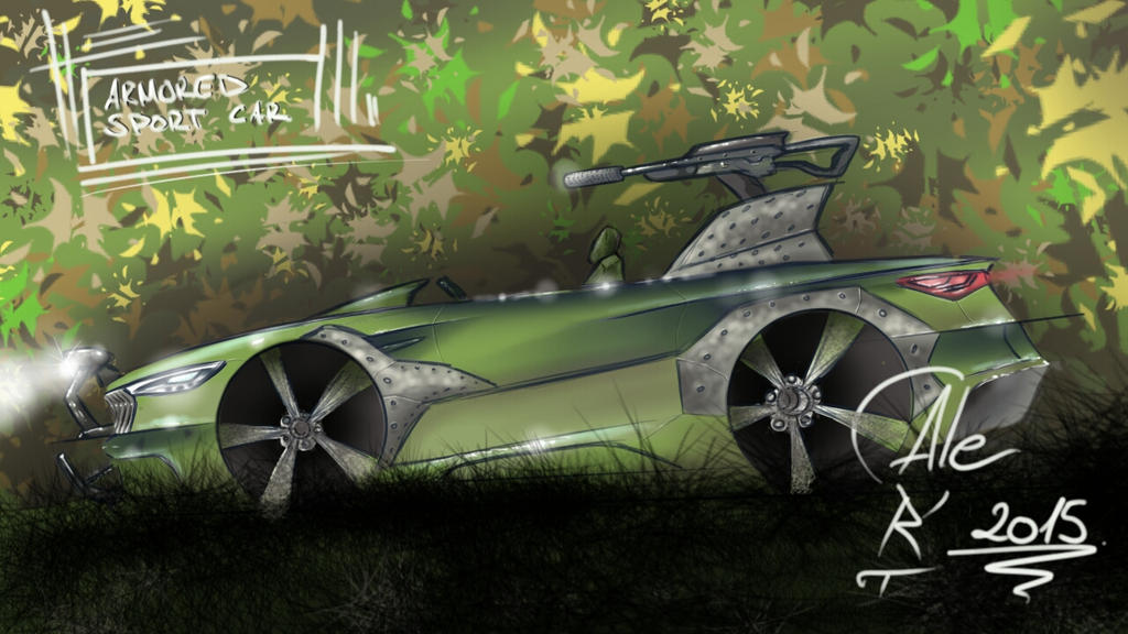 Armored Sport Car by AleART93
