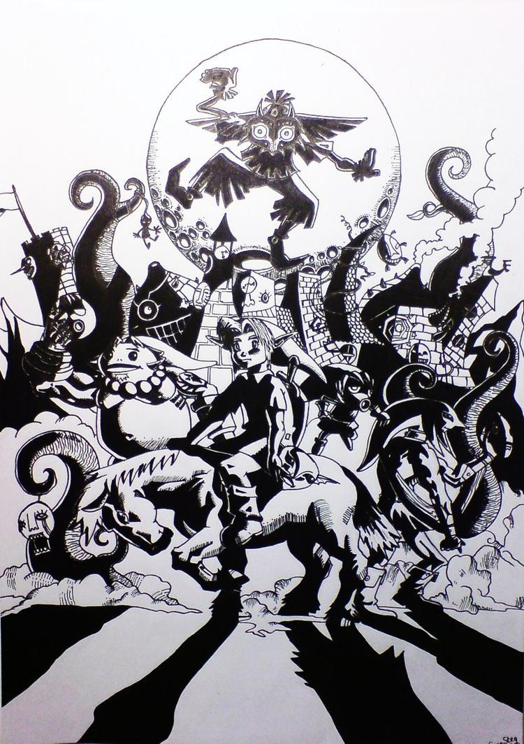 Zelda Majoras Mask by Wulftime
