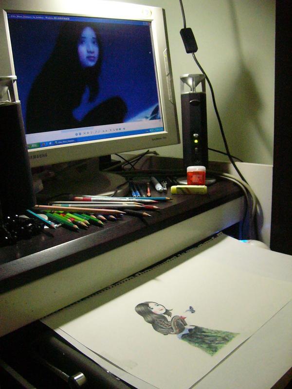 My mini desktop by J4n3T
