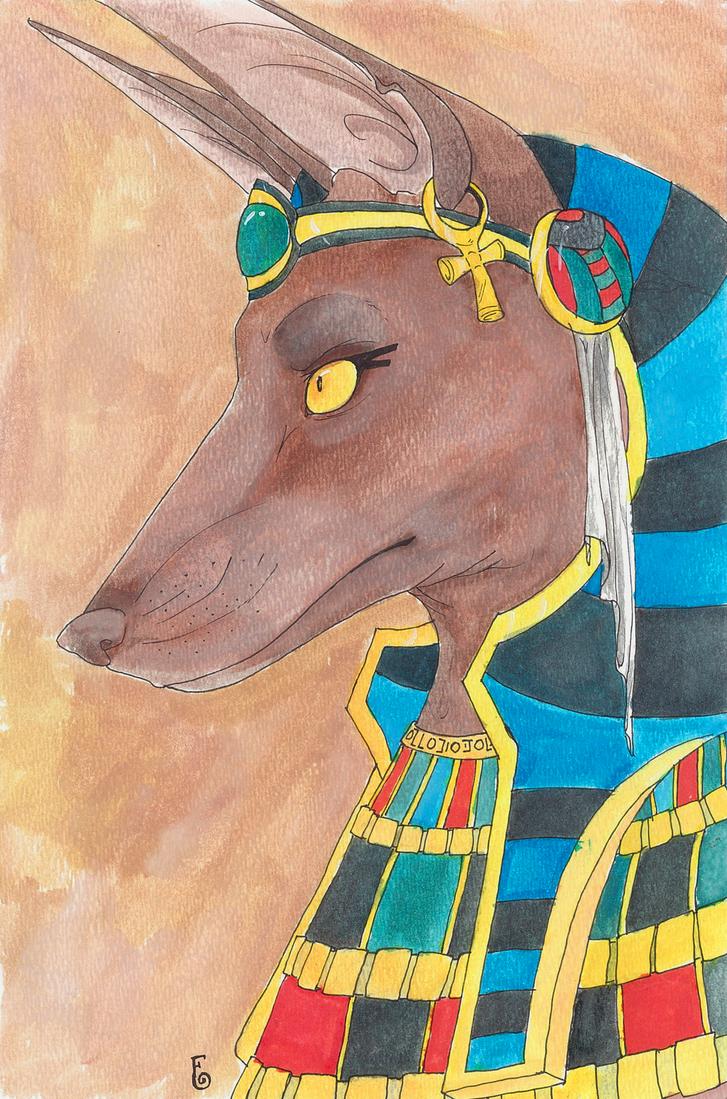 Anubis by Nuerii