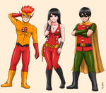 Teen Titans 3: Trio