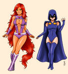 Teen Titans 4: Starfire and Raven