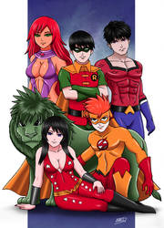 Teen Titans 8 by XenonVincentLegend