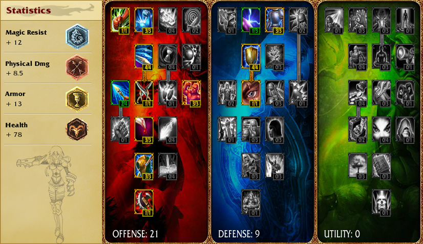 LoL: Shyvana Rune and Mastery page by TheCraftyOne343 on