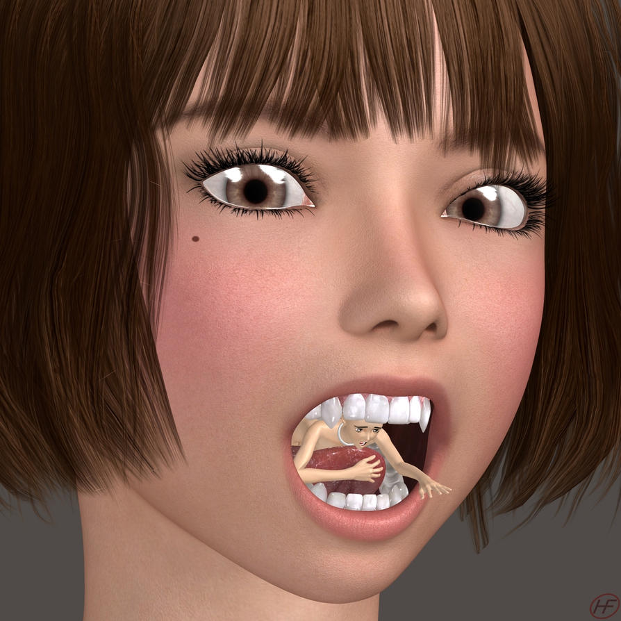 Mouth Play by Hangry-Female