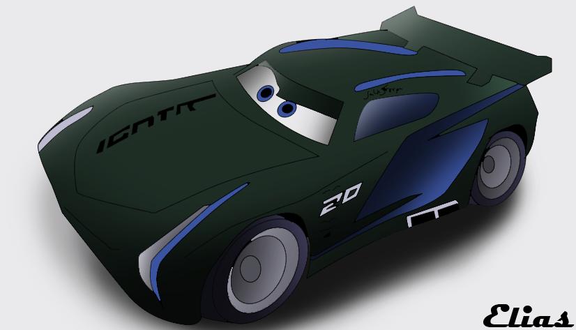 jackson storm cars 3 by 94eliasdesing on deviantart. Black Bedroom Furniture Sets. Home Design Ideas