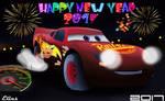 HAPPY NEW YEAR'S 2017-Cars 3