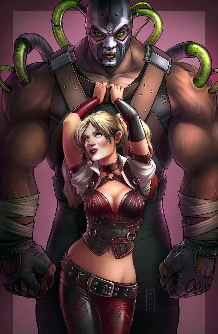 Harley and Bane by dangercook