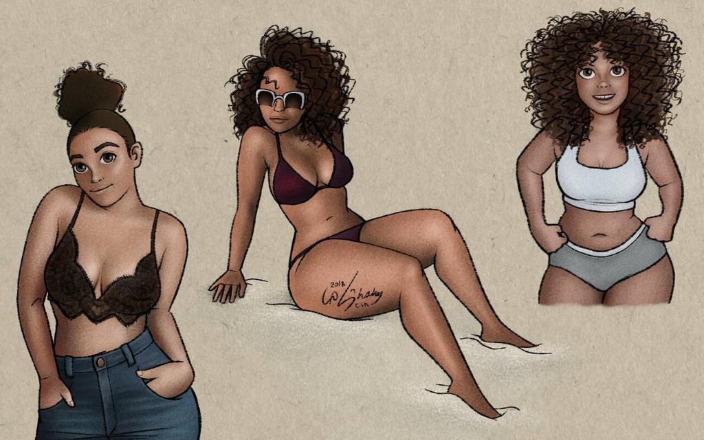 Veronica Bonilla  by ShahyNaz