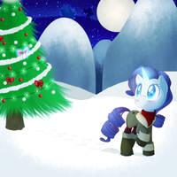 Rarity Christmas by DrSunnyBun