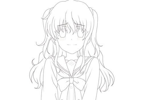 Nao Tomori Line Art