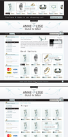 jewellery web shop by outlines