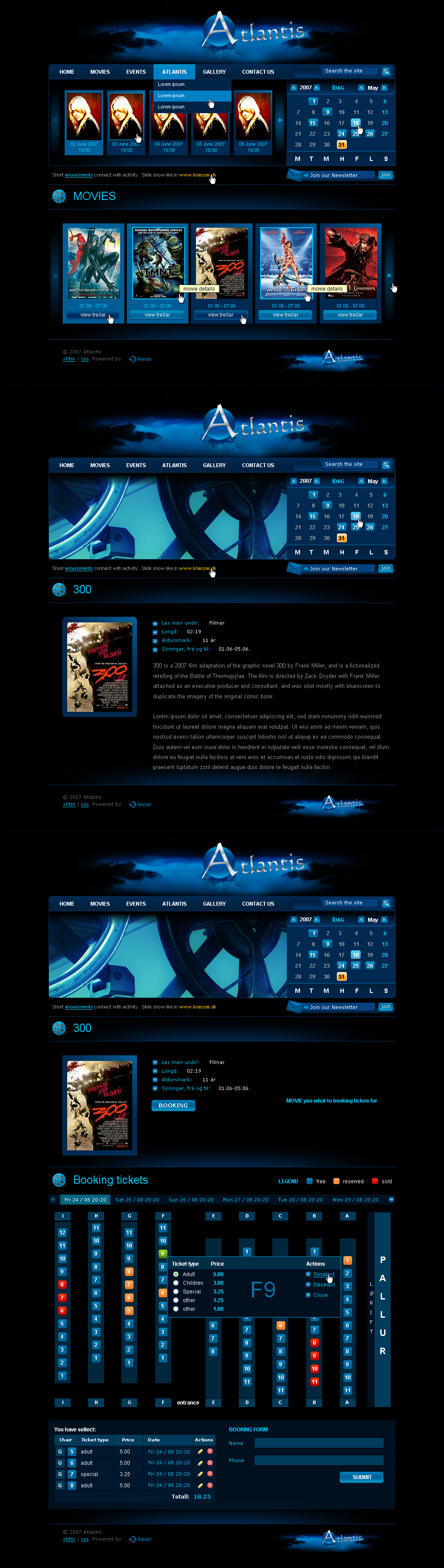 atlantis by outlines