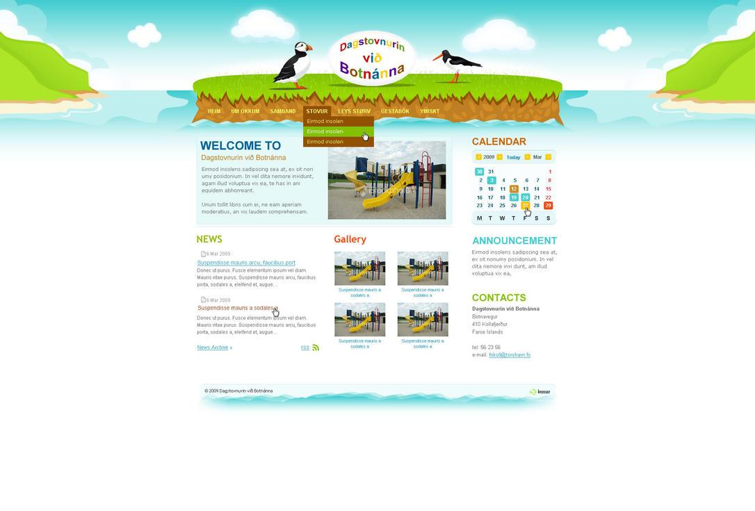 Botnanna kindergarten by outlines