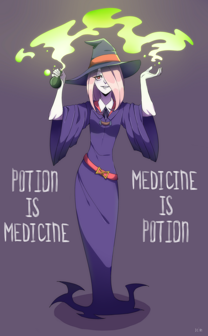 Potion Is Medicine by Hikkine