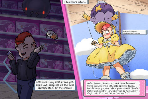 Drifblim's Discipline for a Delinquent Dolly- Text