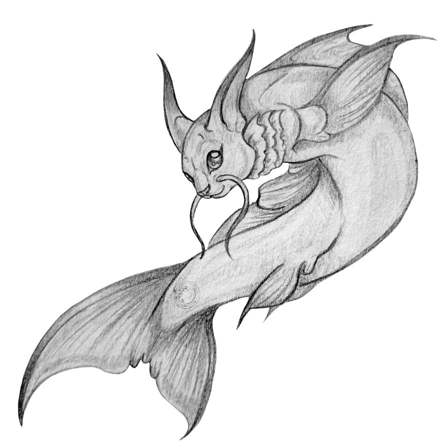 catfish sketch by nekonekohai on deviantart