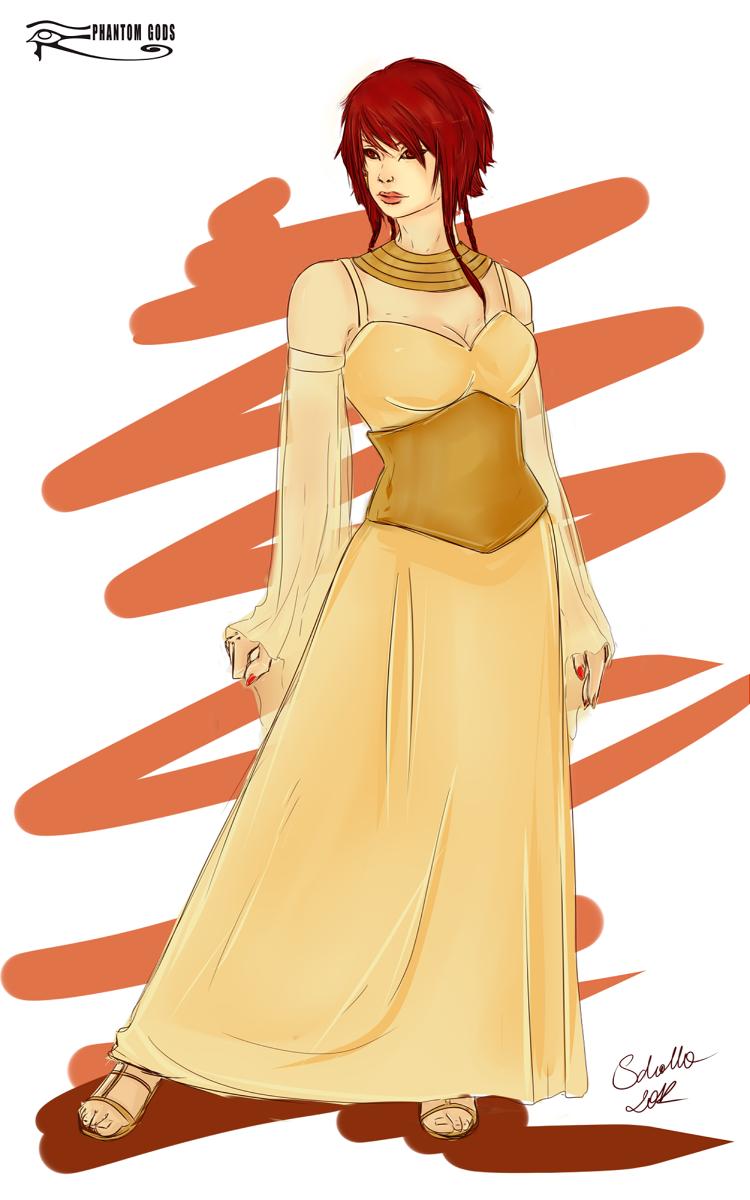 Sachmet - divine clothes by soi-scholla