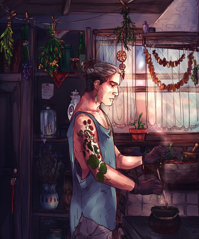 Gaia's son by soi-scholla