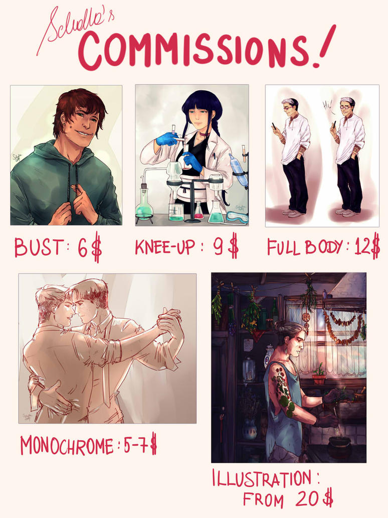 New commissions info UPDATE by soi-scholla