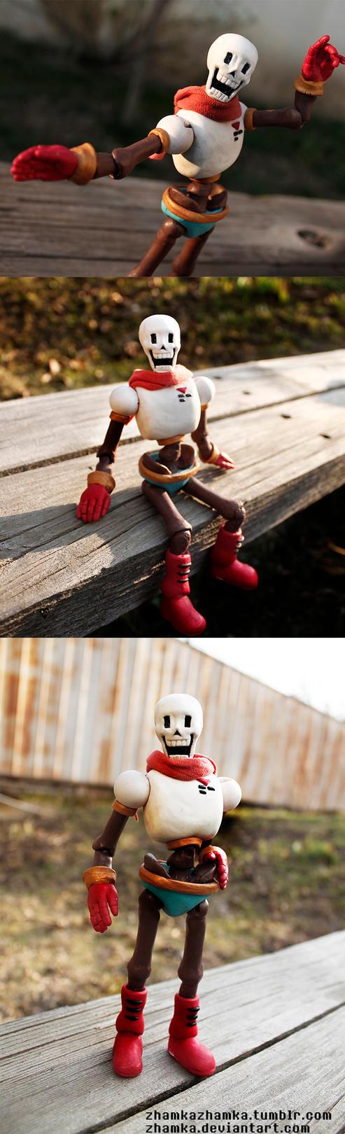Papyrus Ball Jointed Doll by Zhamka