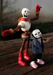 Handmade Skelebro Dolls!