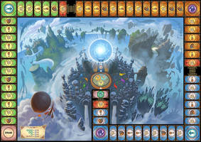 Flakk boardgame by petura