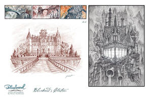 Bluebeard's chateau by petura