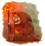 Old Mage Lady