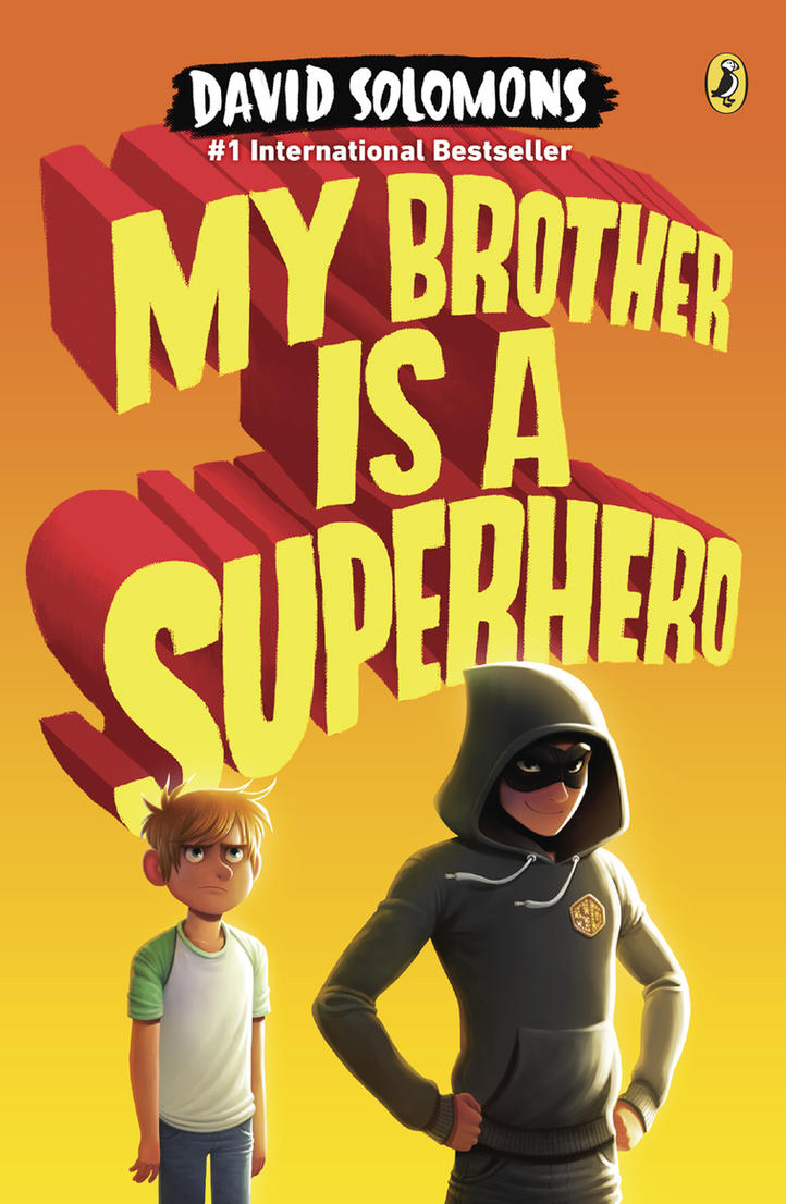 My Brother is a Superhero by petura