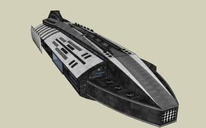 Conqueror Class Battle Cruiser by quacky112
