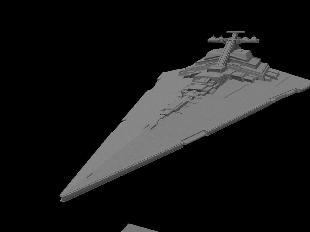 Star Destroyer Work in Progres by quacky112