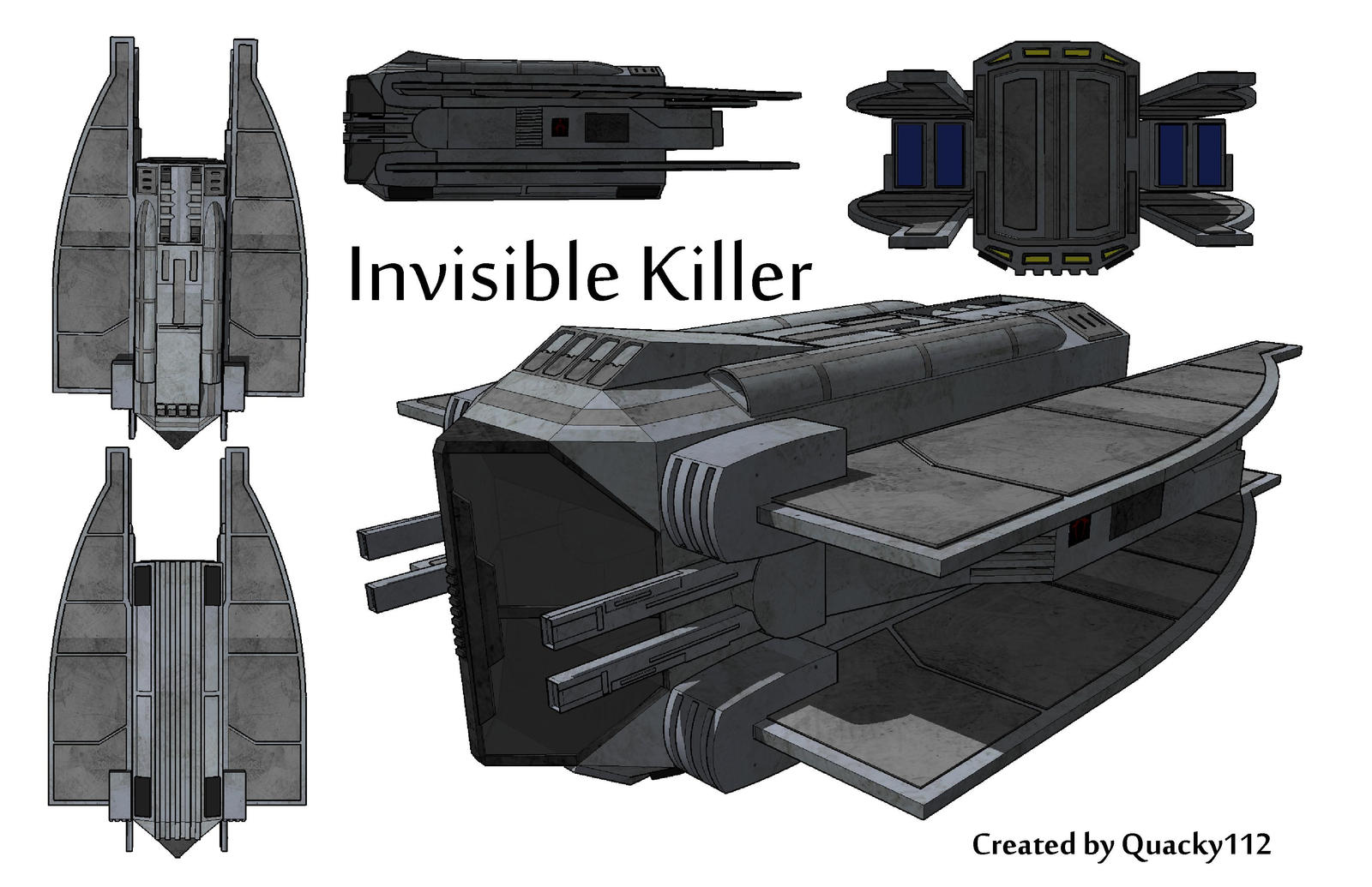 The Invisible Killer by quacky112