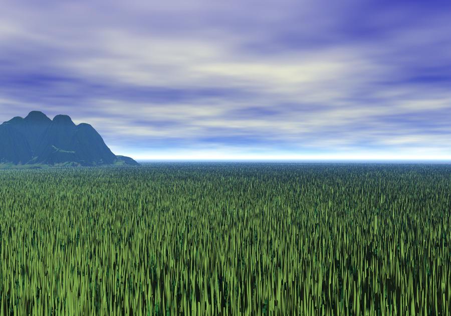 Grassy Plains by L0rdDrake