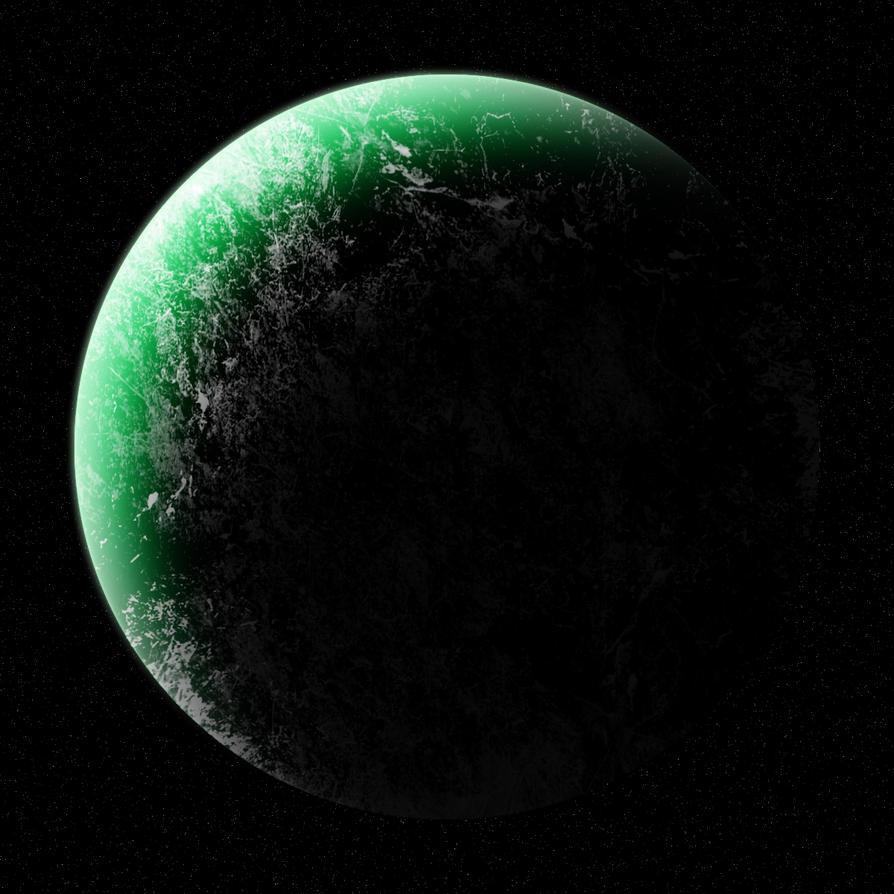 Green planet by L0rdDrake