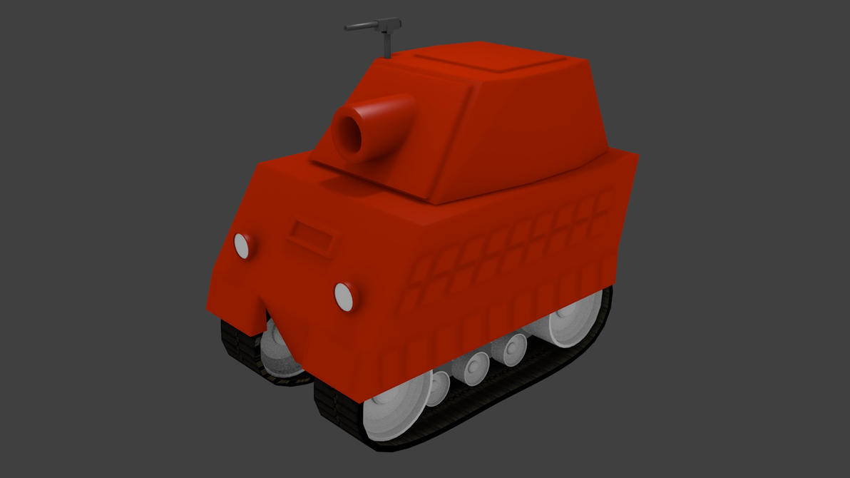 Cartoon Tank (WIP) by L0rdDrake
