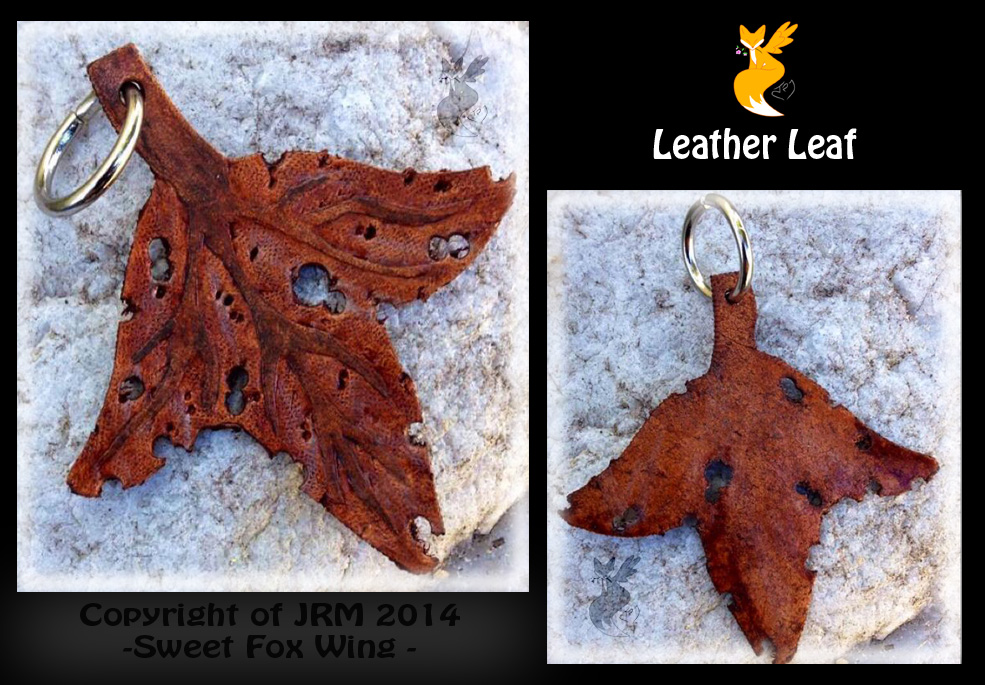 Leather Leaf by Sweet-Fox-Wings