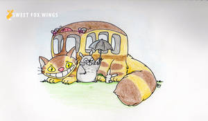 Totoro bus ride