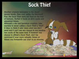 Sock Thief ref sheet by Sweet-Fox-Wings