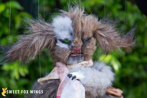Sock Thief by Sweet-Fox-Wings