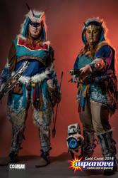 Banuk worriers and Watcher