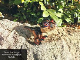 Jurassic Park 3 chibbi male raptor