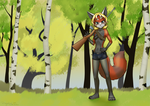 Foxyverse 2020: September Rebeca (clothed)