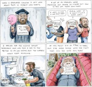 Student Debt - The Nib comic