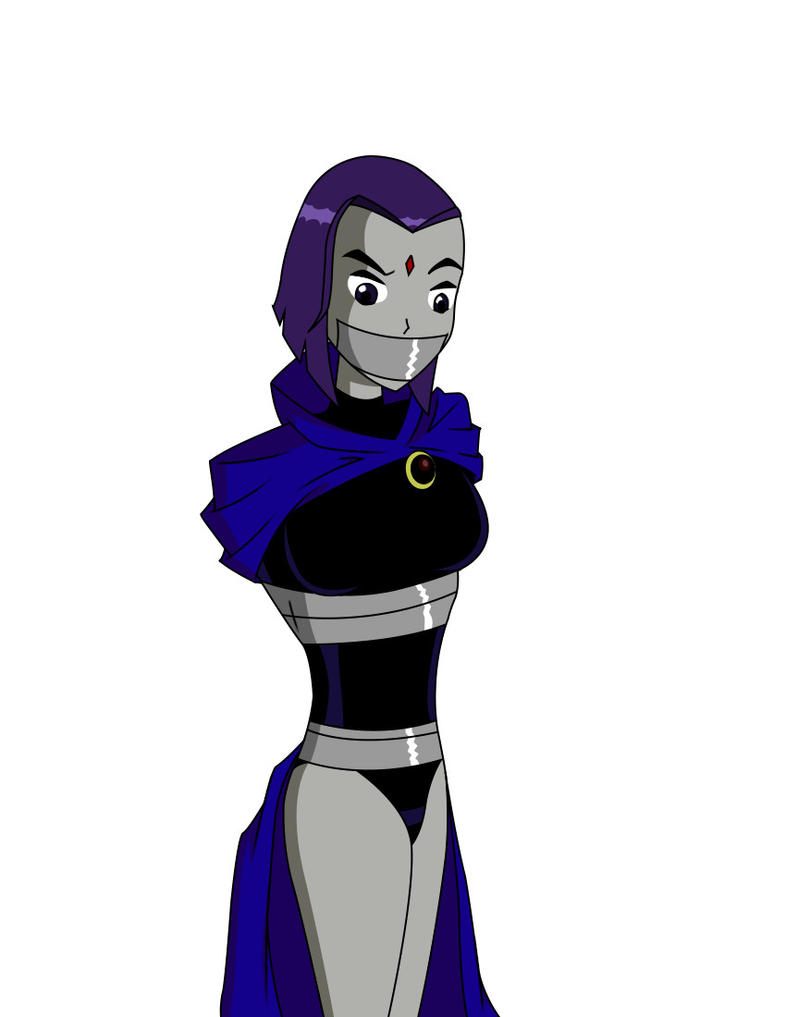 Raven Taped Again By Ztunner On Deviantart